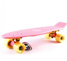 "Fish SkateBoards PASTEL мини-круизер 22"" для девочек"