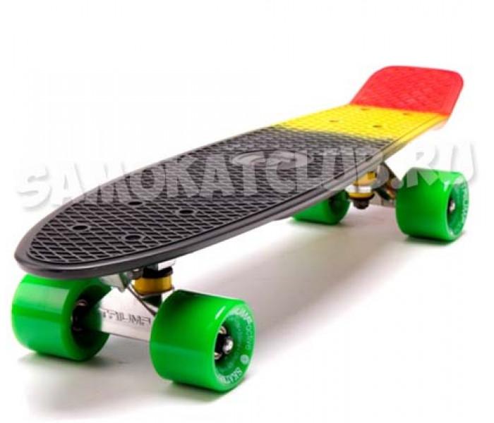 """Скейтборд Triumf Active 22"""" JAMAICA с цветным принтом"""