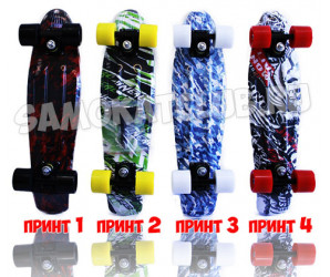 "Мини-круизеры BORA 22"" скейт с рисунком"