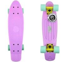 Мини-круизер Fish Skateboards пастельно-фиолетовый