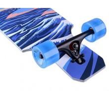 Лонгборд Playshion FS-LB022 TOTEM (голубой)