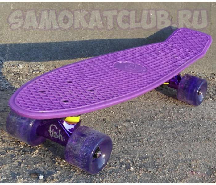 Скейт Fish Skateboards 22дюйма. Эксклюзивная серия