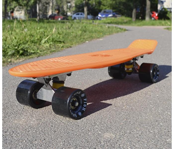 Скейт 22 дюйма orange меняет цвет в зависимости от температуры воды