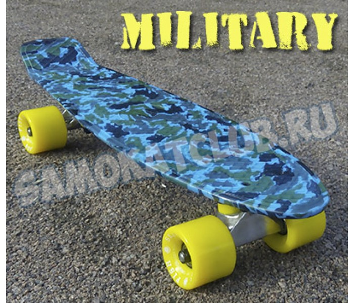 "Пластборд Military Fish Skateboards. Эксклюзивная серия ""Милитари"""