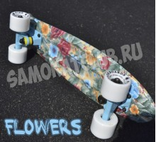 Мини-круизер FLEUR (флер) Fish Skateboards
