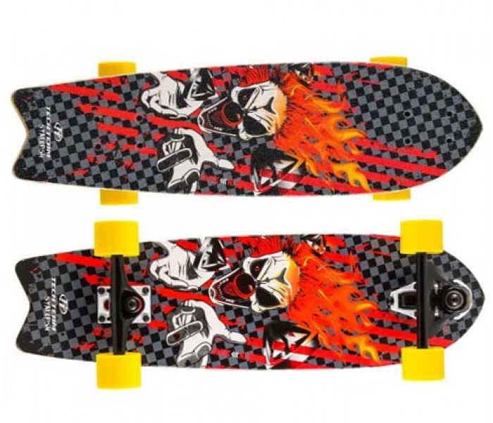 "Скейтборд деревянный Tech Team STALEFISH 27"" (Clown)"