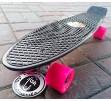 "Fish SkateBoards Black мини-круизер 22"""