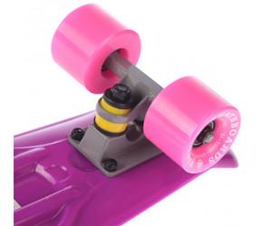"Fish SkateBoards мини-круизер 22"" фиолетовый"