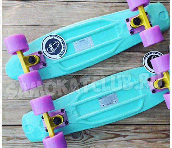 Скейт минтоловый MINT Фишборд для девушек