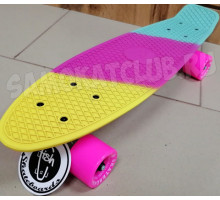 "Fish SkateBoards мини-круизер 22"" Триколор"