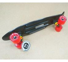 "Мини-круизер Fish Skateboards 22"" черный (пенни борд)"