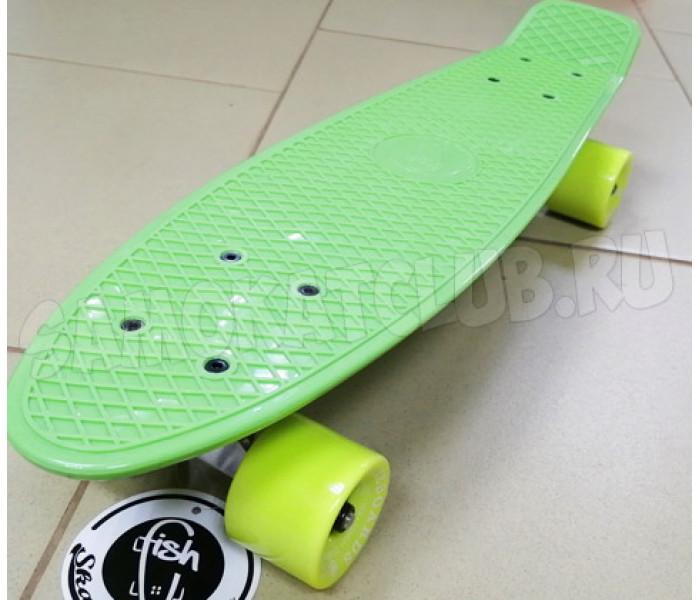 "Мини круизер 22"" Fish Skateboards Green"