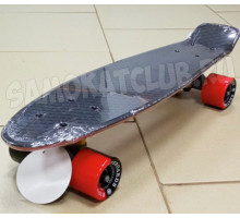 Fish SkateBoards мини-круизер Black/Red 22""