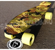 "Fish SkateBoards мини-круизер 22"" Милитари"