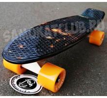 """Fish SkateBoards мини-круизер 22"""" Космический"""