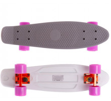 "Fish SkateBoards мини-круизер 22"" серо-белый"