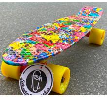 "Fish SkateBoards мини-круизер 22"" Покемоны"