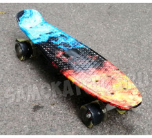 "Скейт 22"" Fire со светящимися колесами"