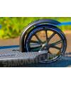 Самокат для взрослых PLANK TRACK 200 Black с большими колесами