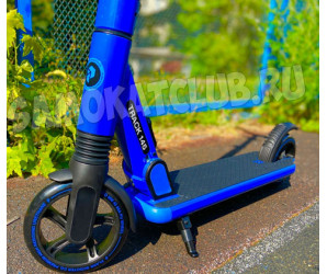 Самокат PLANK TRACK Mini 145 синий с амортизатором
