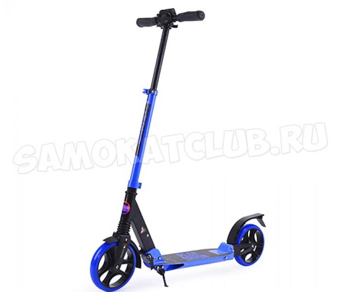 Самокат Playshion VEGAS синий до 120 кг