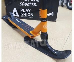 Самокат на лыжах PROTIGER-SNW Playshion 2018