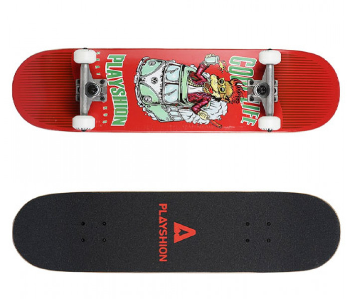 Скейтборд деревянный Playshion COOL LIFE