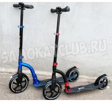 Playshion CITY WALKER самокат с большими колесами (синий, черный)