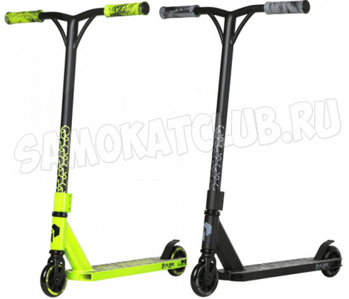 Самокат трюковый Plank Triton 2020 green/black