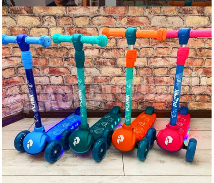 Самокат детский Plank Cosmic 2020г светящиеся платформа и колеса