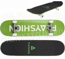 Скейтборд Playshion GUN (зеленый)
