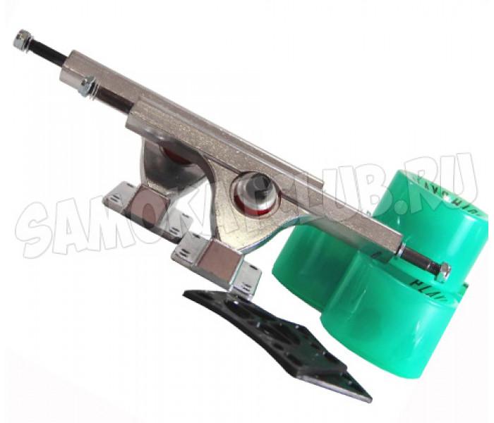 Комплект для лонгборда Playshion (зеленый)