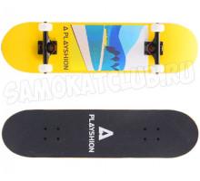 Скейтборд PLAYSHION LANDSCAPER 2020 деревянный