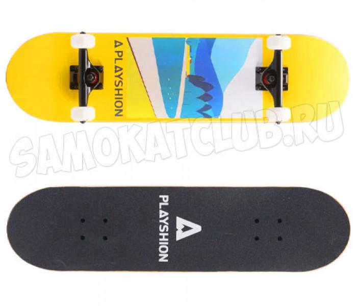 "Скейтборд PLAYSHION LANDSCAPER, 31,8""x8"", PL20-SKATE-LANDS"