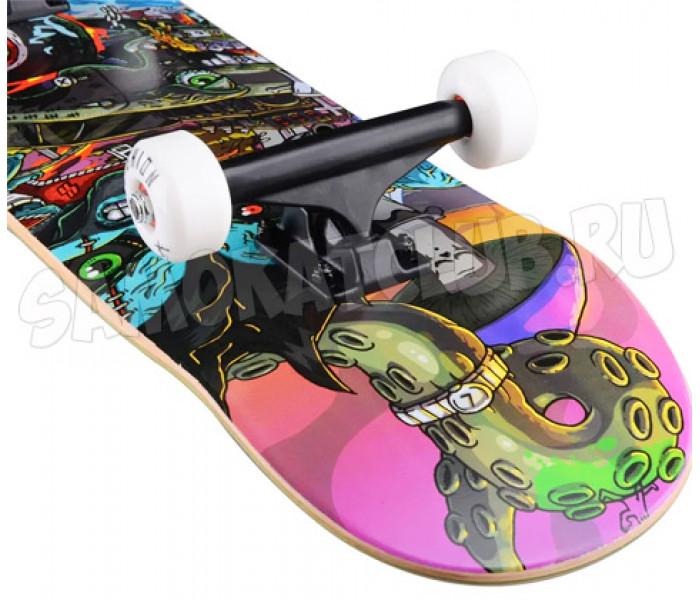 "Скейтборд PLAYSHION COMICS, 31,8""x8"", PL20-SKATE-COMICS"