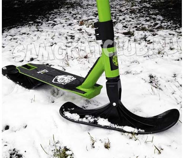 Зимний трюковой самокат PLAYSHION Extreme Snowscooter (снегосамокат)