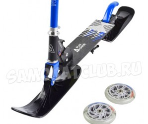 Самокат на лыжах BLUESKY-SNW Playshion 2018 синий