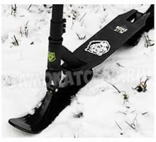 PLAYSHION Extreme самокат на лыжах (черный)