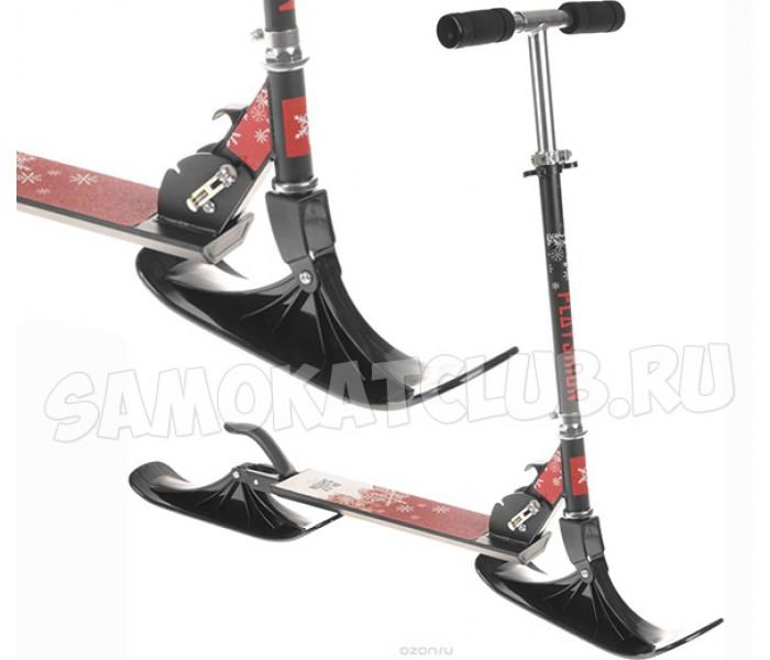 "Снегокат-самокат Playshion ""Kids SnowScooter"", с лыжами и колесами"