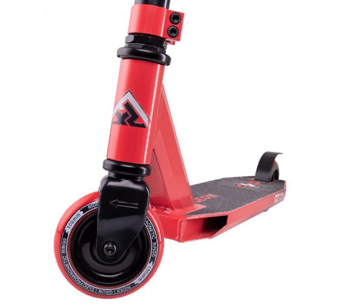 Трюковой самокат RIDEX Geon Red 100mm