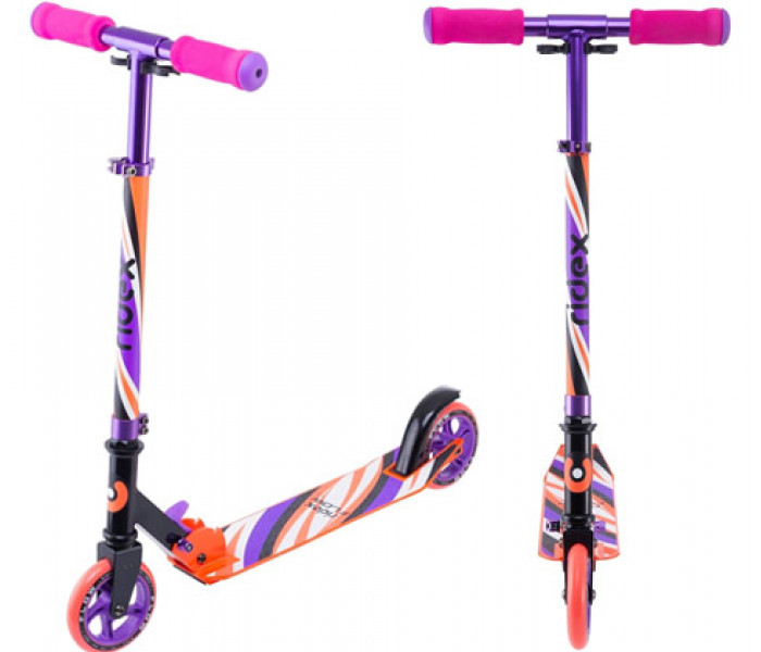 Самокат детский 2-х колесный Ridex Flow 125 Pink
