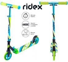 Ridex Flow 125 зеленый самокат для детей 5+