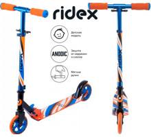 Ridex Flow 125 синий самокат для детей 5+