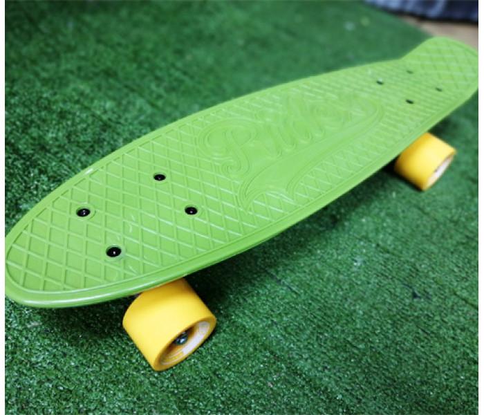Мини-круизер пластиковый RIDEX Soldier зеленый