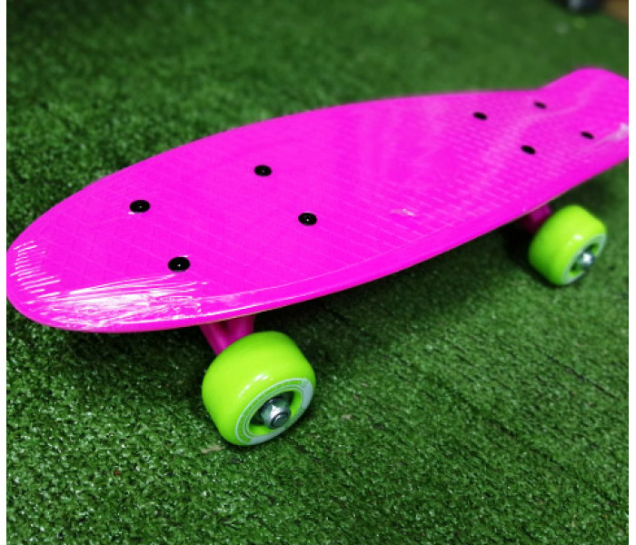 "Мини-круизер пластиковый RIDEX 17'x5"" DOLL розовый"