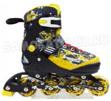 Роликовые коньки Explore Activa III NEW (желтый) Размеры 27-30 и 31-34