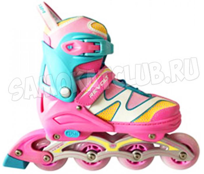 Раздвижные роликовые коньки TT Revolt 2020 Pink (размеры 27-30, 31-34, 35-38)