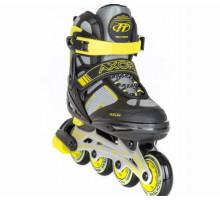 Tech Team TT AXOR 2021 Ролики раздвижные (желтые)