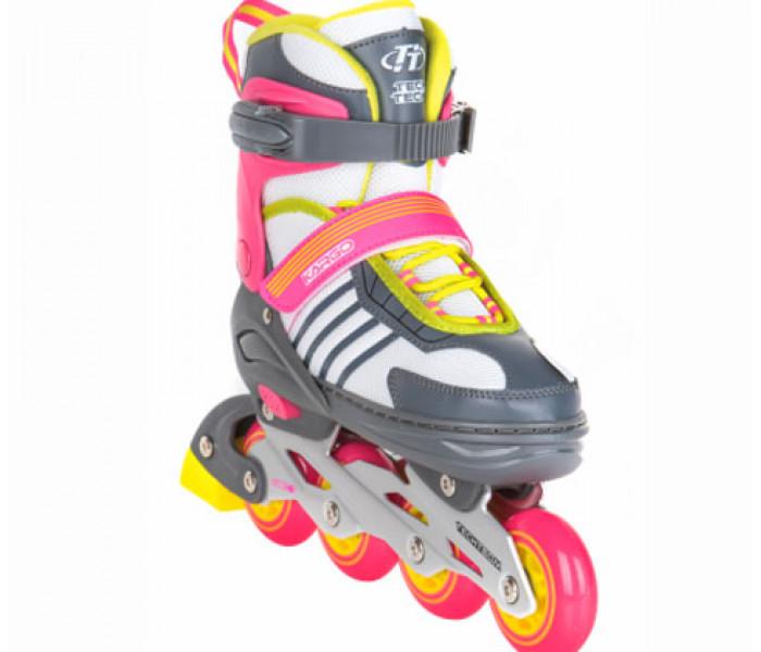 Раздвижные роликовые коньки TT KARGO Pink (размеры 31-34, 35-38)