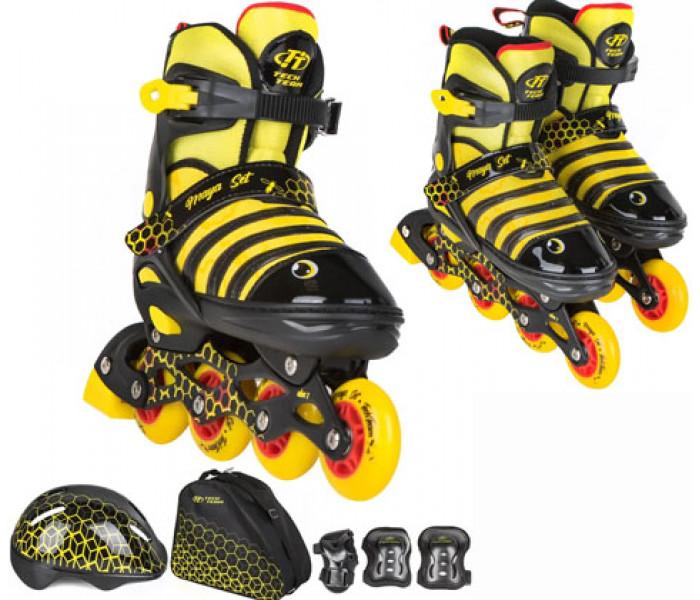 Ролики детские раздвижные с шлемом и защитой TT MAYA SET 2021